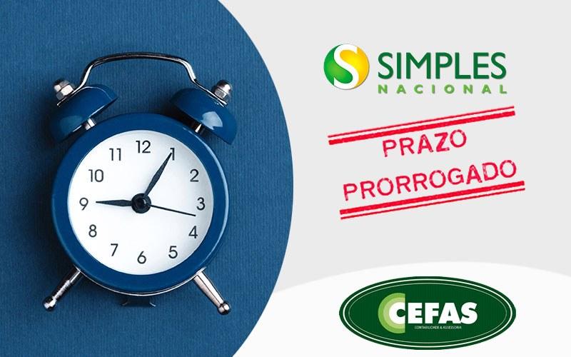 Simples Nacional Cefas - Contabilidade em Santos - SP    Cefas Contabilidade e Administração - Comitê aprova prorrogação do pagamento de tributos do Simples Nacional por seis meses