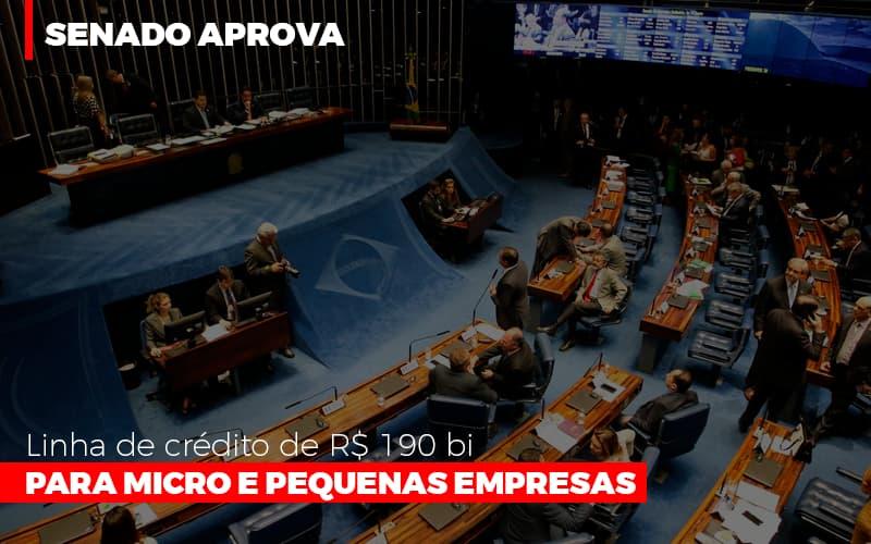 Senado aprova linha de crédito de R$190 bi para micro e pequenas empresas - Senado aprova linha de crédito de R$190 bi para micro e pequenas empresas